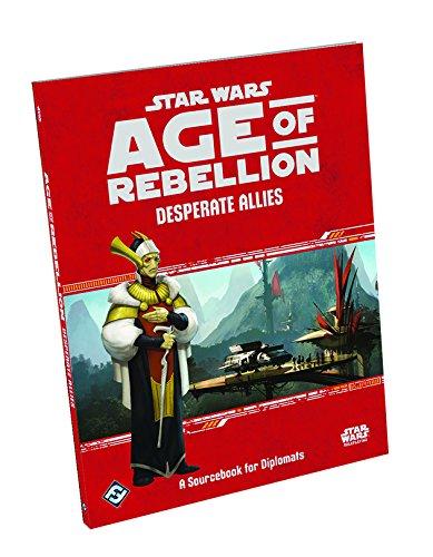 Star Wars: Age of Rebellion Desperate Allies RPG Supplement