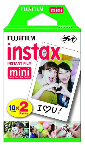 Fujifilm INSTAX Mini Instant Film Twin Pack (White) - FUJIFILM