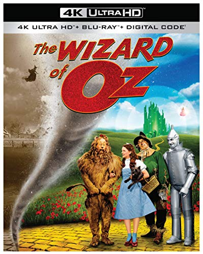 4K Blu-ray : Wizard Of Oz (2 Discos)