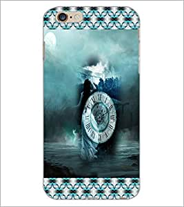 PrintDhaba Music Girl D-5674 Back Case Cover for APPLE IPHONE 6 (Multi-Coloured)