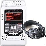 Jammin Pro HR-5 Handy Recorder Weiß MP3-Aufnahme + Dig. Kopfhörer