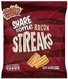 Golden Wonder Bacon Streaks 150 g (Pack of 12)