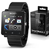 Sony SW2 SmartWatch 2 Bluetooth Water Resistant Android Watch Metal Wristband Stainless Steel Wristband. Retail Box.100% GENUINE PRODUCT IGN