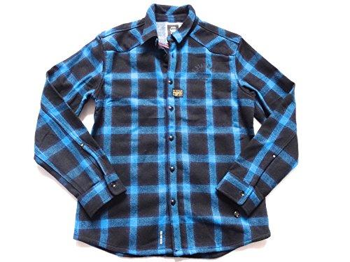 G-Star Raw Orson Narvik G Overshirt 1L/S giacca da uomo 83027.3202.1273Coat Fisher blue M