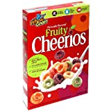 Fruity Cheerios Cereal, 0.88-Ounce Pouches (Pack of 96)