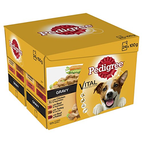 Pedigree-in-Gravy-Pouch-Adult-100-g-Pack-of-2