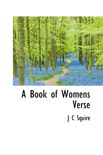 A Book of Womens Verse