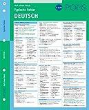 PONS Typische Fehler auf einen Blick Deutsch: kompakte Übersicht, effizient Fehler vermeiden