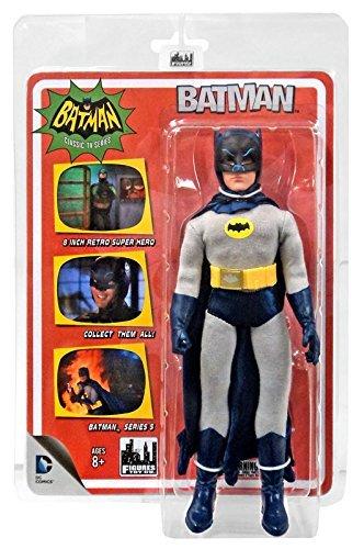 Batman Classic 1966 TV Series Action Figures Series 5: Removable Cowl Batman (Batman Bat Cowl compare prices)