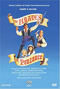 Gilbert & Sullivan - The Pirates of Penzance / Jon English, Simon Gallaher, Helen Donaldson, Toni Lamond, Derek Metzger, Tim Tyler, Craig Schaffer