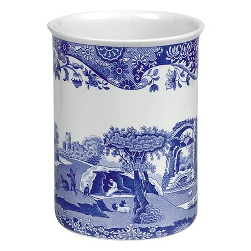 spode blue italian earthenware gourmet open