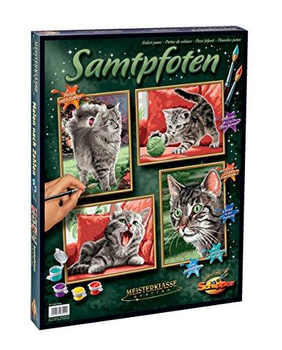 Schipper Velvet Paws Paint-By-Number