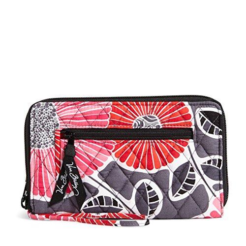 Vera Bradley Zip Around Wallet - Cherry Blossoms Wristlet Cherry