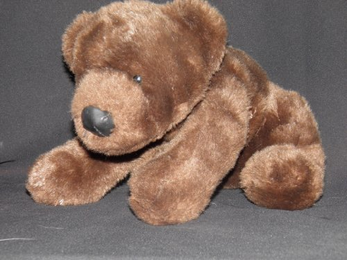 "Brown 12"" Dandee Plush Bear - 1"