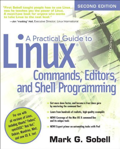 A Practical Guide to Linux Commands, Editors, and Shell...