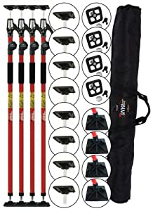 Fastcap 3HANDCPACK 3rd Hand Contractor Poles, 4-Pack