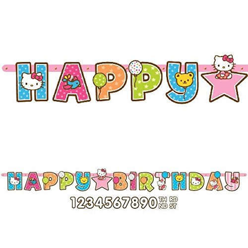 Amscan-Dainty-Hello-Kitty-Balloon-Dreams-Jumbo-Add-An-Age-Birthday-Party-Letter-Banner-Decoration-1-Piece-105-x-10-Multicolor