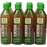 ALO Comfort Aloe Vera Beverage, Watermelon & Peach, 16.9 Ounce (Pack of 12)