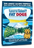 Natural Balance Fat Dogs Chicken & Salmon Formula Low Calorie Dry Dog Food, 28-Pound