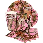Pink Camo Party Kit