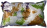 ONWEGO Best Inflatable Travel Pillow, Self Inflating Travel Pillow, Air Travel Pillow. A comfortable inflatable pillow for the airplane, beach, car, camping, or relaxing outdoors. (Camouflage)