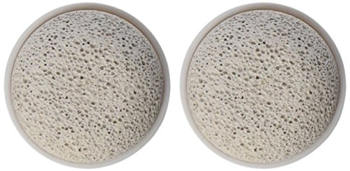 Vitagoods Replacement Pumice Stone Heads, 2 Count