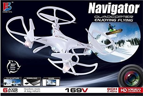 quadrocopter-navigator-169v-drohne-mit-kamera-6-achsen-gyro-24-ghz-6-kanal-30-cm-x-30-cm-x-6-cm-rot