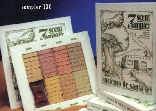 7 Scent Sampler - Natural Woodincenses With Holder And Forty Nine Bricks