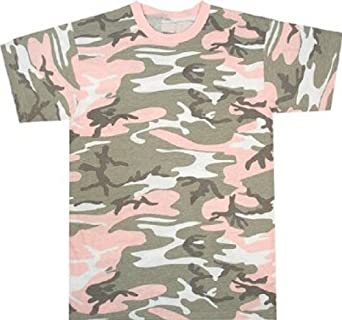 Subdued Pink Camouflage T-Shirt (Polyester/Cotton) 8681 Size X-Small