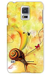 IndiaRangDe Hard Back Cover FOR Samsung Galaxy S5 G900