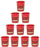 Yankee Candle - 10x Sweet Strawberry Votive Samplers
