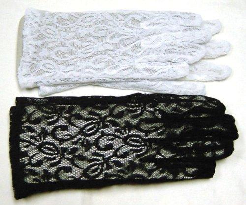 Gloves Lace Black - 1