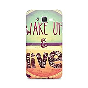 Ebby Wake Up And Live Premium Printed Case For Samsung J5