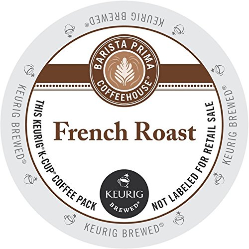 Barista Prima Coffeehouse Coffee, Keurig K-Cups, French Roast, 24- Count (Coffee Bean French Brew Pods compare prices)