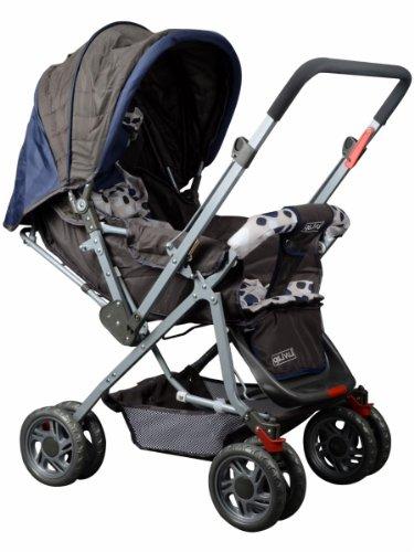 Luv Lap Sunshine Baby Stroller (Navy Blue)