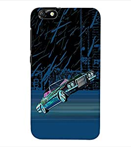 ColourCraft Car Back Case Cover for HUAWEI HONOR 4X
