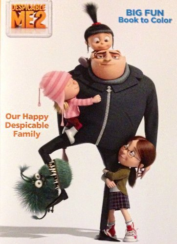 Despicable Me 2 Coloring & Activity Book OUR Happy Despicable Family
