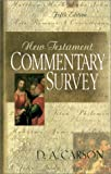 New Testament Commentary Survey (0851111963) by D. A. Carson