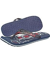 Puma Men's Kongo Ind. Blue, White And High Risk Red Flip Flops Thong Sandals - 6 UK