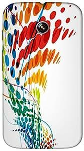 Timpax protective Armor Hard Bumper Back Case Cover. Multicolor printed on 3 Dimensional case with latest & finest graphic design art. Compatible with Motorola Moto -E-1 (1st Gen )Design No : TDZ-26431