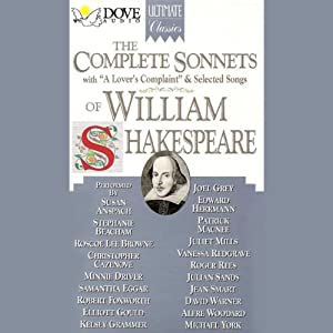 The Complete Sonnets of William Shakespeare Hörbuch
