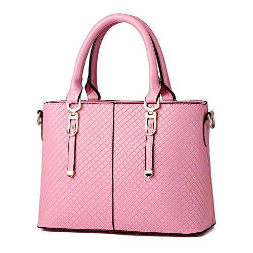 Koson-Man-Borsa Vintage da donna, borsetta per impugnatura, rosa (Rosa) - KMUKHB287