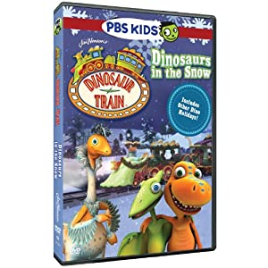 Dinosaur Train Dinosaurs In The Snow from PBS