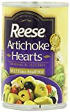 Reese Artichoke Hearts, Extra Small Size, 14-Ounce Cans (Pack of 12)