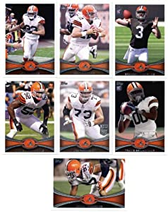 2012 Topps Cleveland Browns Complete Team Set (Sealed) - 12 cards including McCoy,... by 2012 Topps