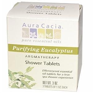 Aura Cacia Eucalyptus Shower Tablets 90 ml