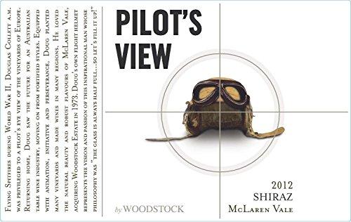 2012 Woodstock Wines Pilots View Mclaren Vale Shiraz 750 Ml