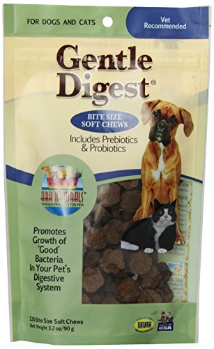Ark Naturals Products For Pets 326002 120 Count Gentle Digest Soft Chews