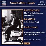 Beethoven: Die fünf Cellosonaten; Minuet in G-Dur; Brahms: Cellosonate Nr. 2