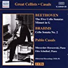 Beethoven-Cello Sonatas Nos 1-5; Minuet in G; Brahms-Cello Sonata No 2
